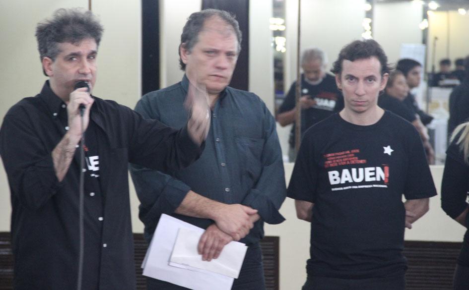 Reunión de organizaciones contra la nueva orden de desalojo a los trabajadores del Hotel BAUEN
