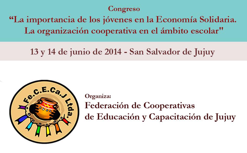 En junio, importante Congreso sobre educación, cooperativismo y juventud