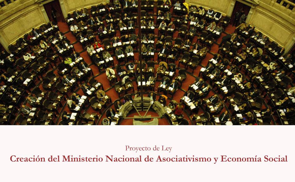 Proyecto de ley: creación del Ministerio Nacional de Asociativismo y Economía Social