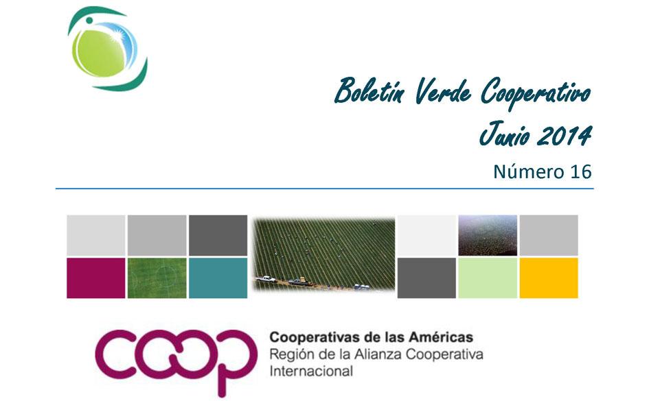 Boletín Verde Cooperativo de la Alianza Cooperativa Internacional. Nº 16.