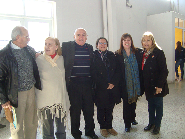 Pte. IPCYMER, Dr. Ricardo Etchemendy, y asociados del CGCyM Entre Ríos.