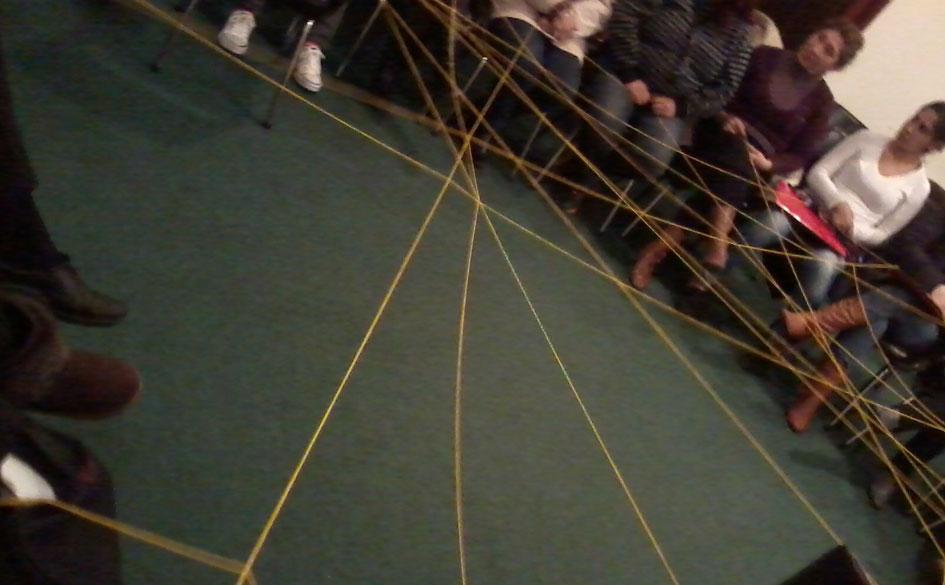 Técnicas grupales asociativas llevadas a cabo en la capacitación.