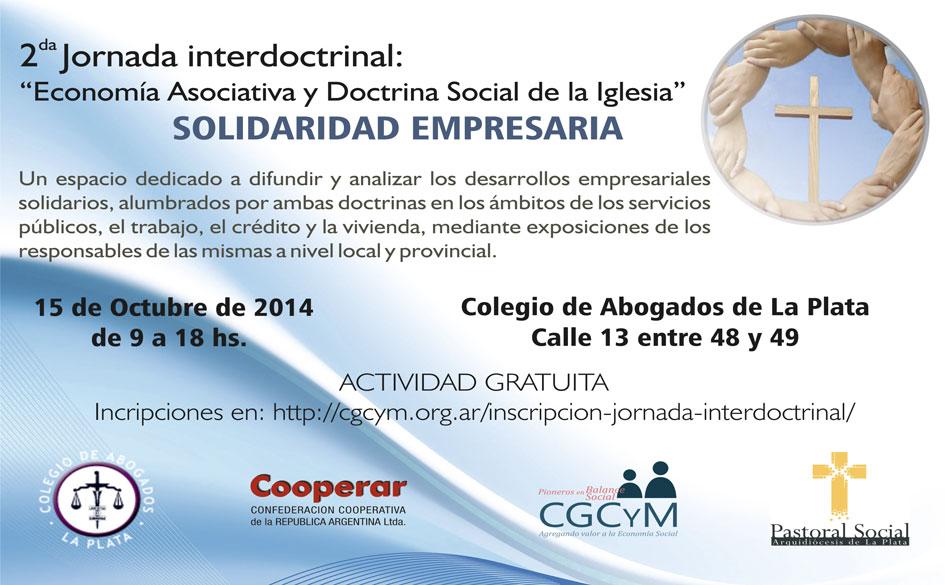 2da. Jornada Interdoctrinal Economía Asociativa y Doctrina Social de la Iglesia.