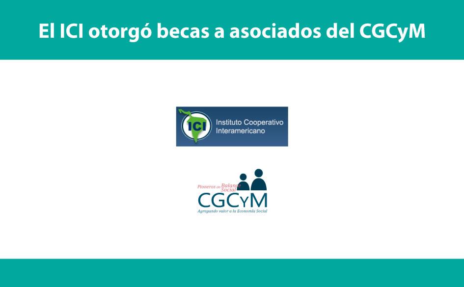 El Instituto Cooperativo Interamericano otorgó becas a asociados del CGCyM