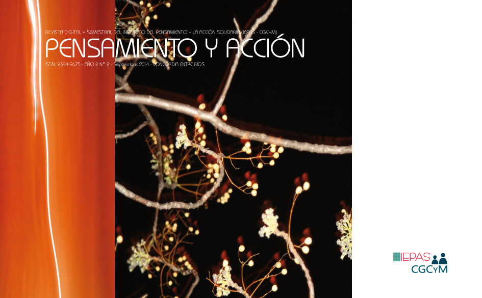 Ya está disponible el Nº 2 de la Revista Pensamiento y Acción, editada por el IEPAS (CGCyM)