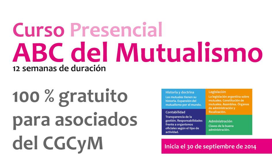 Becas para asociados al CGCyM del 100% para la realización del Curso ABC del Mutualismo