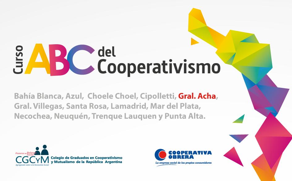 """Lanzamiento del curso """"ABC del Cooperativismo"""" en Gral. Acha (La Pampa)"""