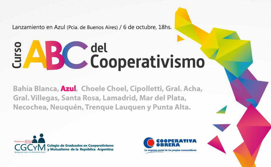 """Lanzamiento del Curso """"ABC del Cooperativismo"""" en Azul (Buenos Aires)"""