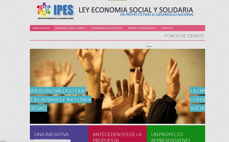 Comienzan los Foros de Debate sobre la Ley de Economía Social y Solidaria. El CGCyM promueve la activa participación de sus asociados