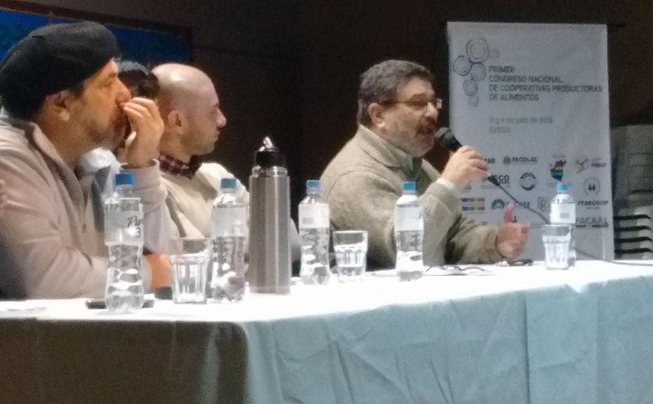 Participación del CGCyM en el 1er. Congreso Nacional de Cooperativas Productoras de Alimentos