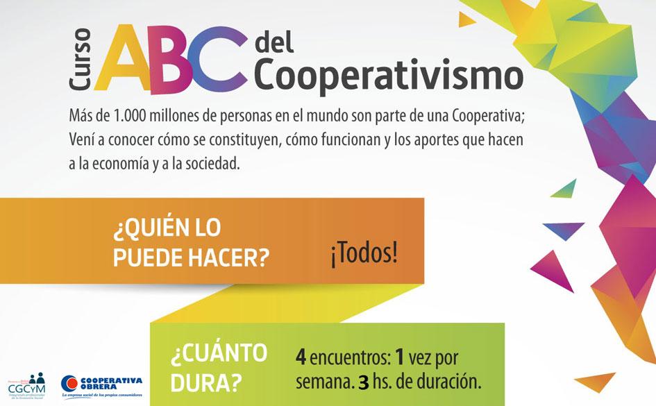 """Lanzamos junto a la Cooperativa Obrera una nueva edición de los cursos """"ABC del Cooperativismo"""""""