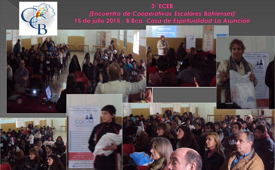Finalizó el 3° Encuentro de Cooperativas Escolares Bahienses auspiciado por el CGCyM