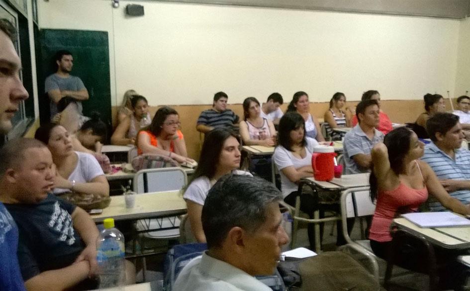 Charla abierta del CGCyM en Posadas (Misiones) conmemorando el Día Nacional del Mutualismo