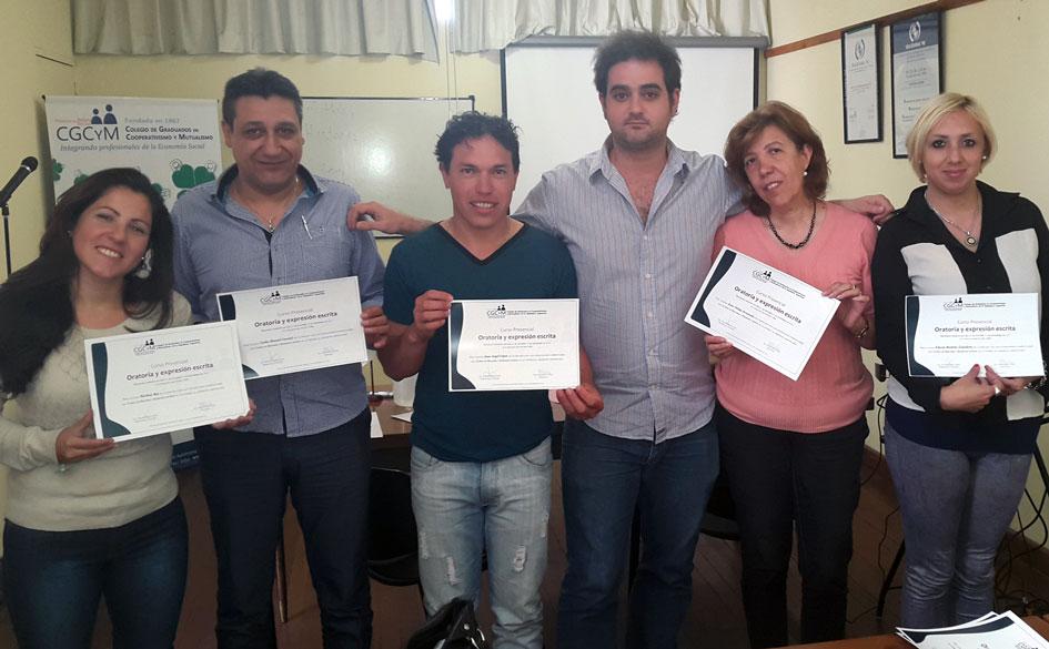 Formación en Oratoria y expresión escrita: finalizó el Curso-taller presencial en el CGCyM
