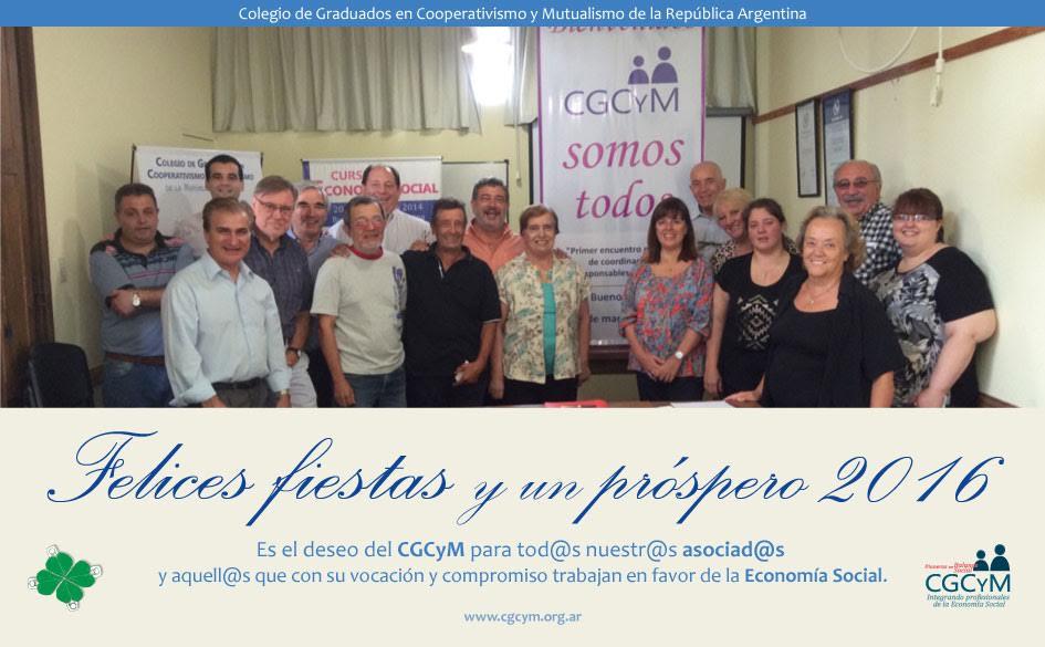 Un saludo a tod@s l@s asociad@s del CGCyM y otr@s integrantes de la Economía Social