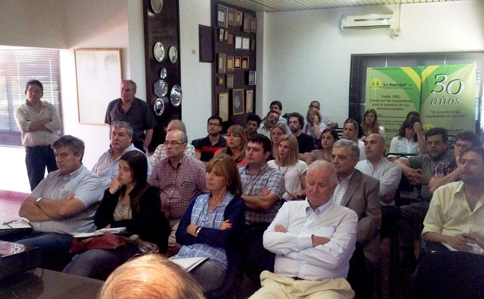 Jornada de actualización sobre legislación cooperativa para la Cooperativa de Cooperativas La Regional de Chacabuco