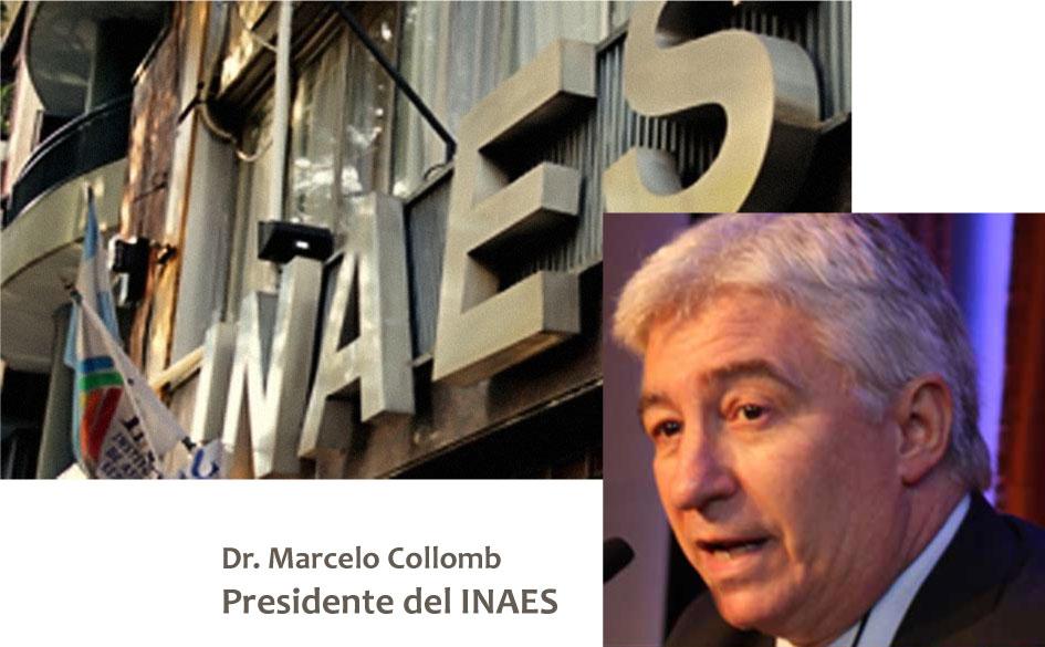 Dr. Marcelo Oscar Collomb, designado nuevo Presidente del INAES a través del Decreto 167/2015