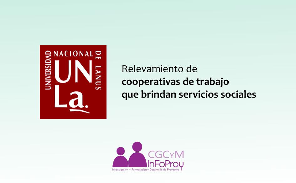Relevamiento de cooperativas de trabajo que brindan servicios sociales a la comunidad