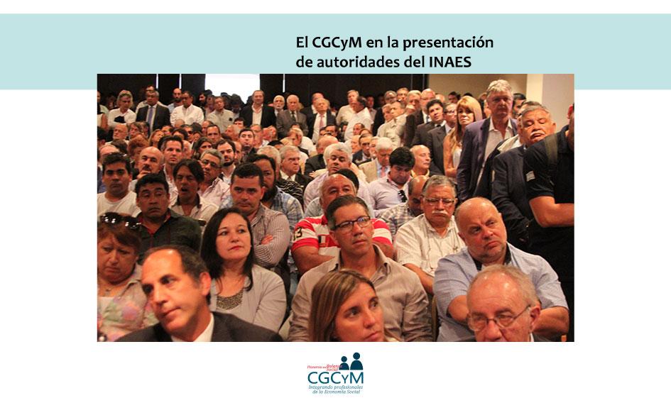 El CGCyM en el acto de presentación de las nuevas autoridades del INAES