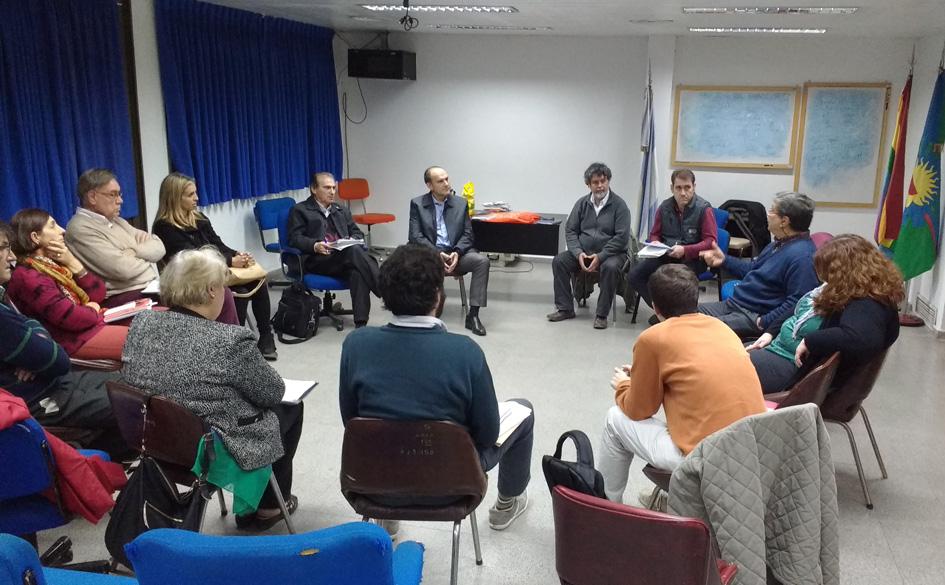 Reunión con el Dr. Pablo Nogues, Subsecretario de Acción Cooperativa de la Pcia. de Buenos Aires