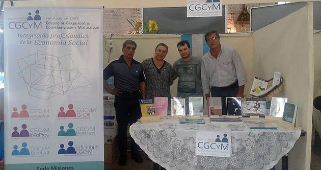 """El CGCyM Misiones participó de la Fericoop 2016 y brindó una charla sobre """"Educación Cooperativa"""""""