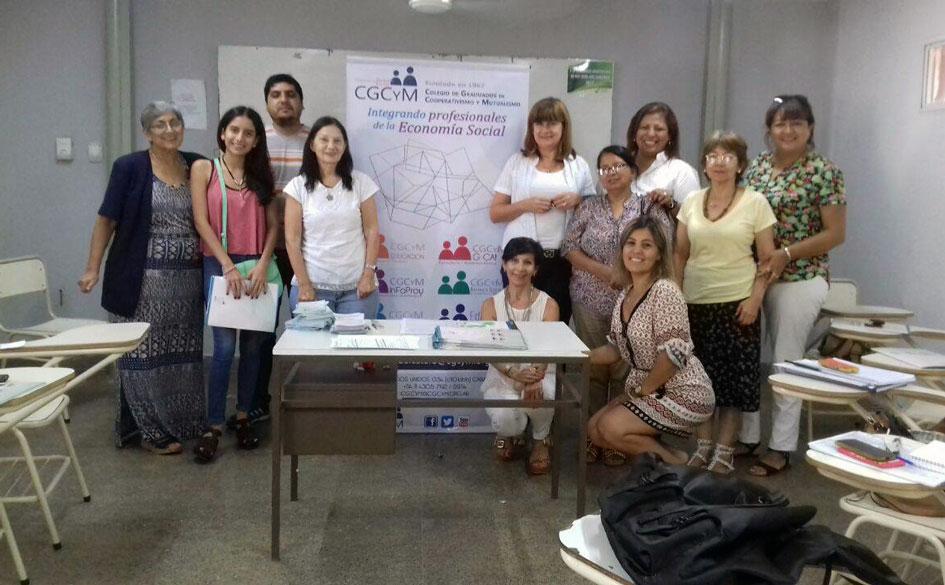 Santiago del Estero: Informe de la Reunión de Vinculación de Graduados en cooperativismo y mutualismo y Asociados al CGCyM