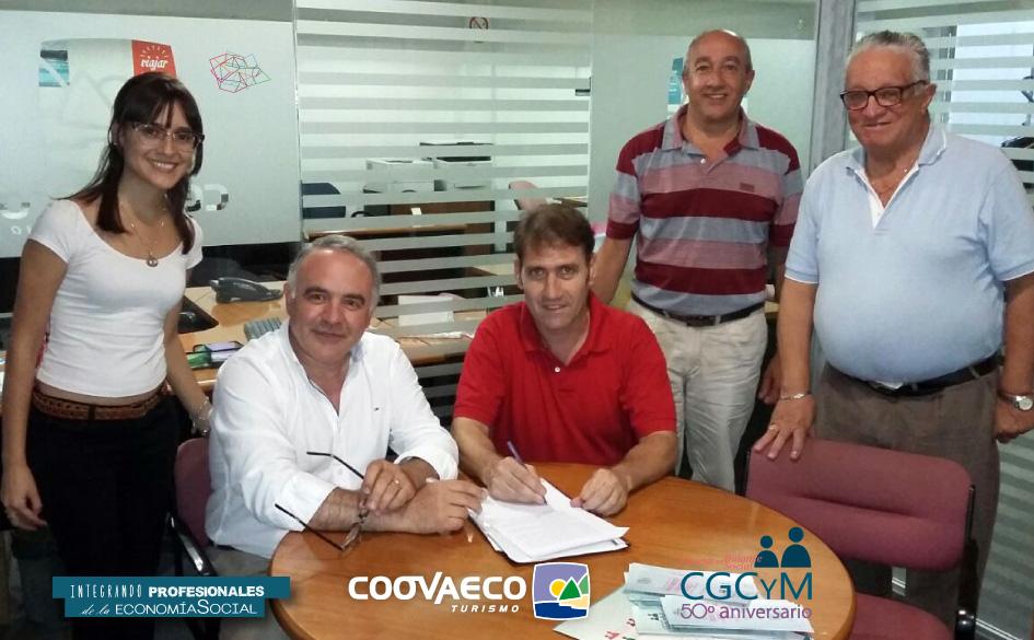 Convenio COOVAECO + CGCyM: Una alianza estratégica para difundir las experiencias innovadoras de Cooperativas y Mutuales
