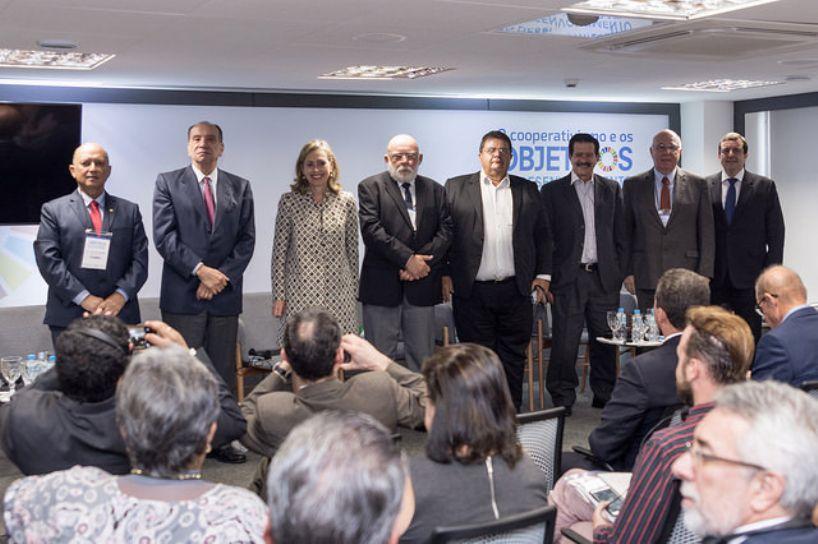 Las Cooperativas y los Objetivos de Desarrollo Sostenible (ODS – ONU). Seminario internacional desarrollado en São Paulo, Brasil