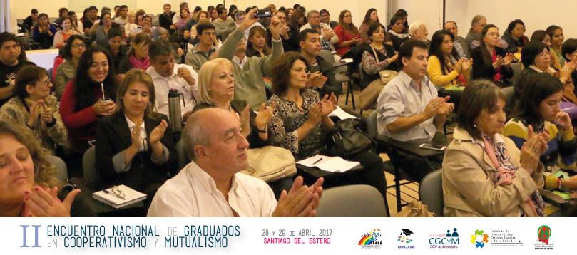 Encuentro de Graduados en Cooperativismo y Mutualismo: fortaleza institucional en beneficio de la Economía Social y Solidaria
