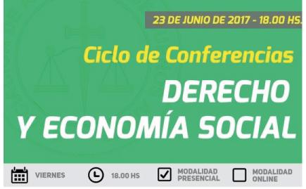Conferencia sobre Cooperativismo de Trabajo y Derecho Laboral en el SXXI a cargo del Dr. Brunengo