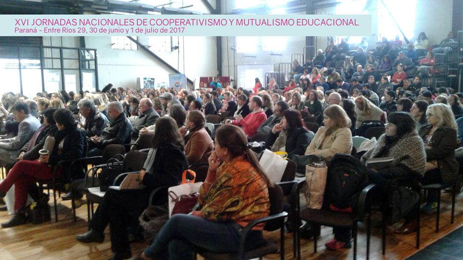 Informe de las XVI Jornadas Nacionales de Cooperativismo y Mutualismo Educacional