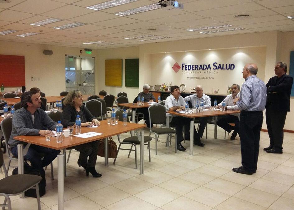 """El CGCyM brindó un Taller para dirigentes de la Mutual Federada Salud y de la Fundación Federada """"25 de Junio"""""""