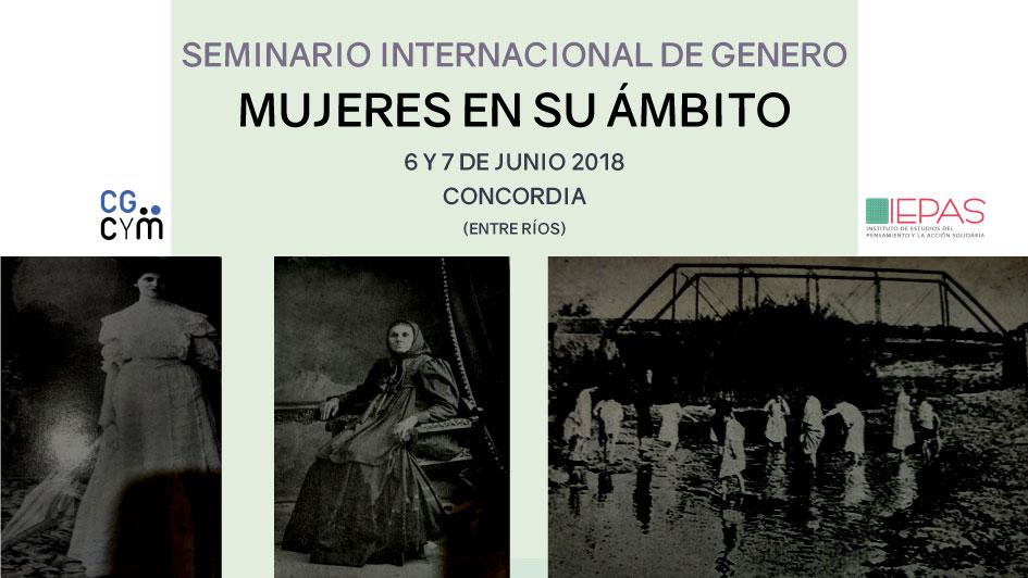 Seminario Internacional de Género: Mujeres en su ámbito