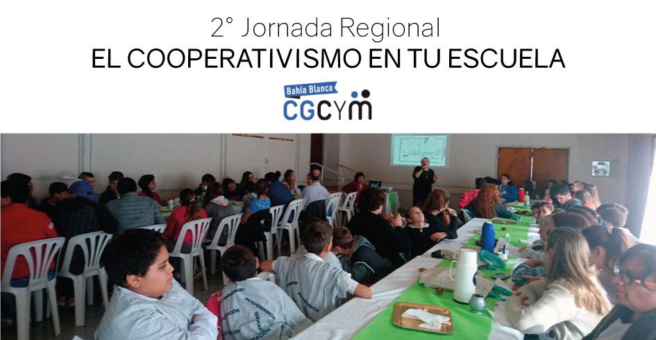 """Se realizó la 2° Jornada Regional """"El cooperativismo en tu escuela"""" en la localidad de Rivera"""