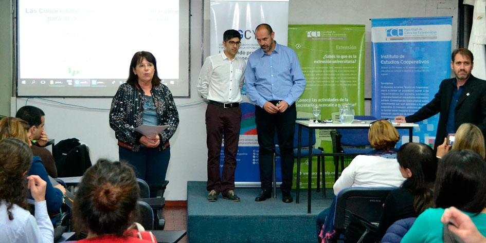 Se desarrolló en la UNLP una charla sobre valor agregado del cooperativismo agroindustrial