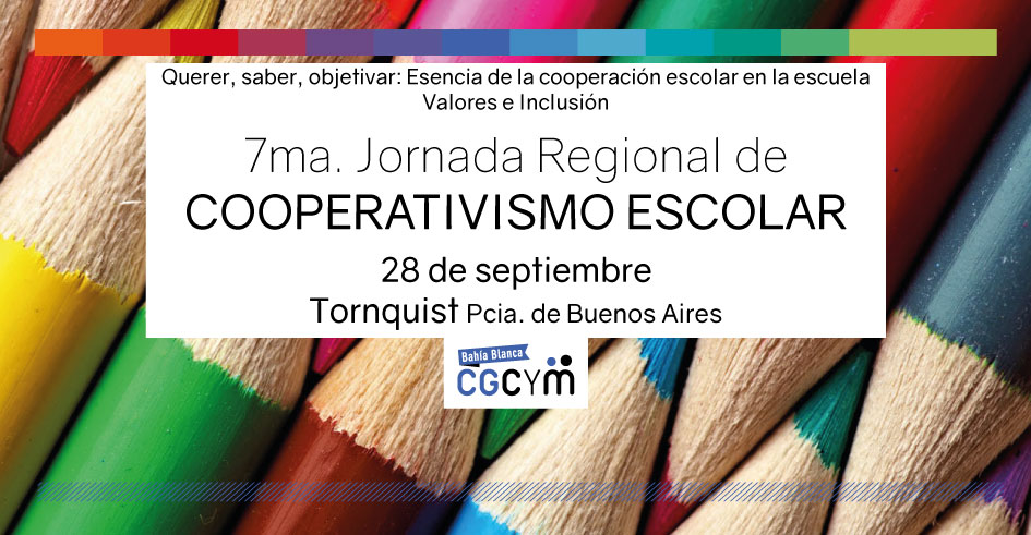 7ma. Jornada Regional de Cooperativismo Escolar en Tornquist