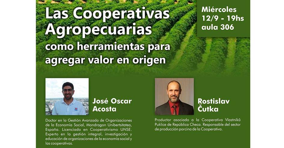 """Charla abierta en La Plata sobre """"Las cooperativas agropecuarias como herramientas para agregar valor en origen"""""""