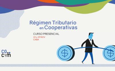 Curso sobre Régimen Tributario en Cooperativas (para no especialistas) – Presencial