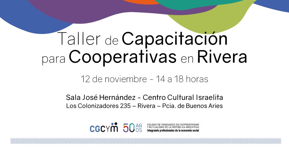 Taller de Capacitación para Cooperativas en Rivera