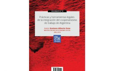 Nuevo libro de acceso libre: «Prácticas y herramientas legales de la integración del cooperativismo de trabajo de Argentina»