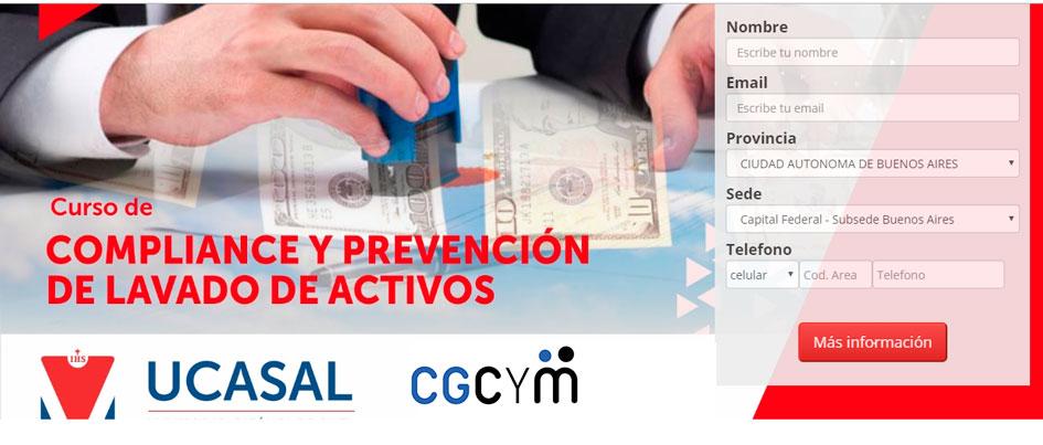 Curso presencial sobre «Compliance y Prevención de Lavado de Activos» organizado junto a la UCASAL