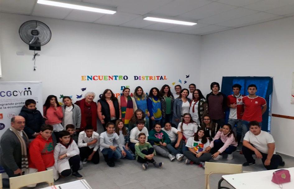 Culminó la primera etapa del programa integral de capacitación en cooperativismo escolar