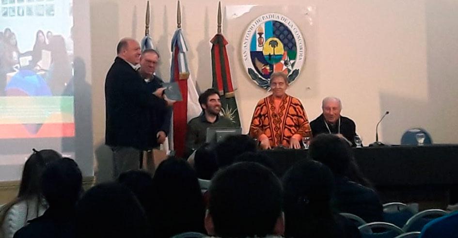 Concordia celebró la trayectoria institucional del CGCyM