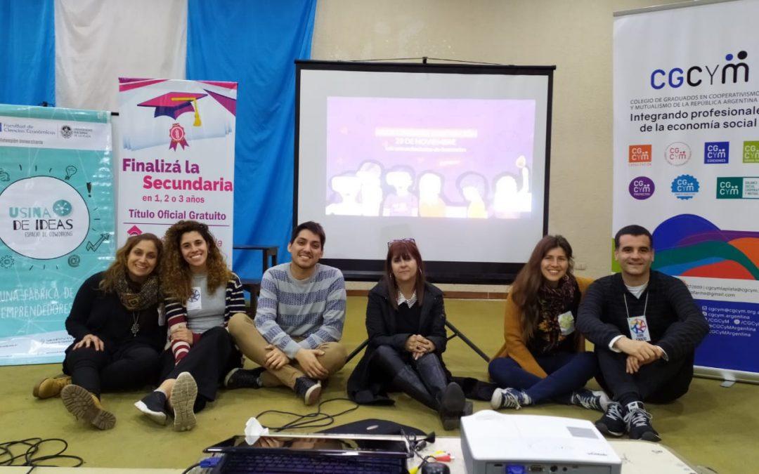 CGCyM La Plata realizó un gran evento de integración en el ámbito escolar