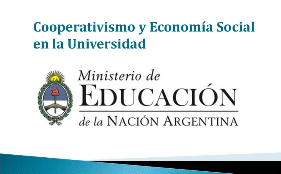 Importante resolución oficial sobre Cooperativismo y Economía Social en la Universidad