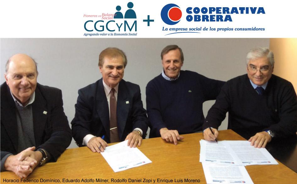 La Cooperativa Obrera y el CGCyM firman convenio de colaboración