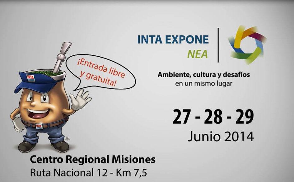 """INTA Expone NEA 2014: """"Ambiente, Cultura y Desafíos"""" en Misiones"""