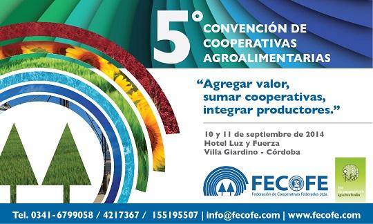 5º Convención de Cooperativas Agroalimentarias organizada por FECOFE en Córdoba