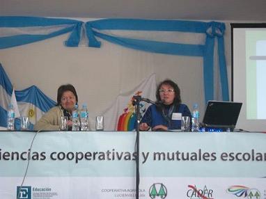 Lic. Estela Echeverría y Silvia Liliana Nieva