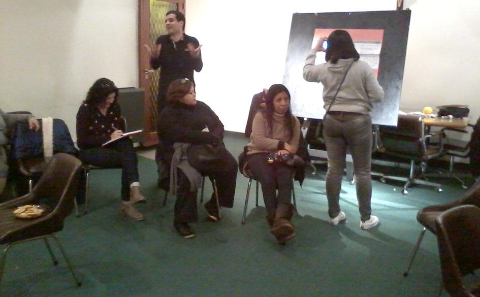 La Comisión de Jóvenes del CGCyM La Plata capacitó a trabajadores de la salud en temas cooperativos.